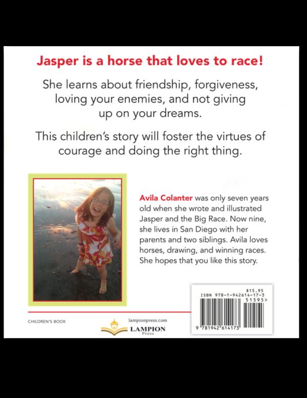 Jasper and the Big Race